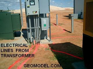 Electrical Lines from Transformer
