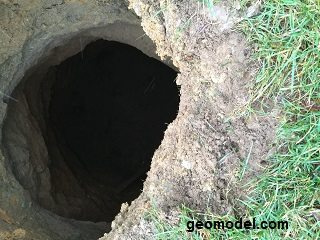 GeoModel, Inc. gpr services for detecting subsurface voids or sinkholes