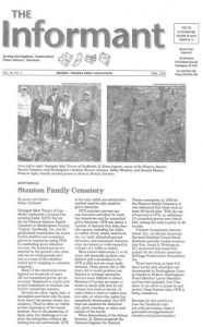 Article about GeoModel's Survey of the Stanton Family Cemetery